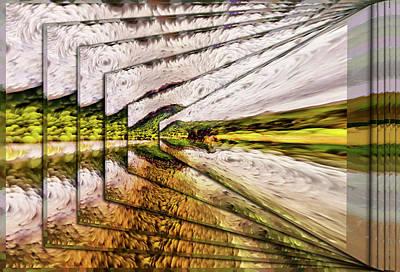 Digital Art - Van Gogh Perspective by Mario Carini