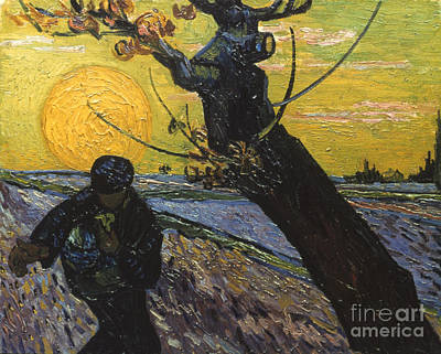 Photograph - Van Gogh: Sower, 1888 by Granger