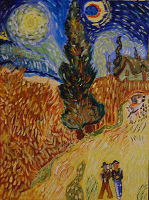 Van Gogh Study Art Print by Michele Edler