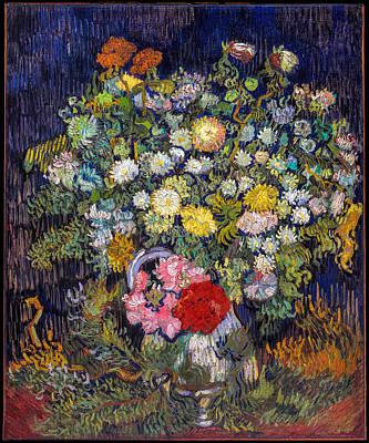 van Gogh's Vase          Art Print