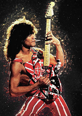 Celebrities Royalty-Free and Rights-Managed Images - Van Halen by Zapista OU
