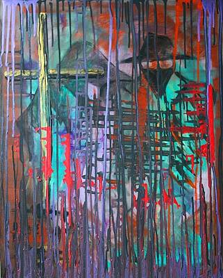Monster Painting - Van Helsing by Laura Barbosa