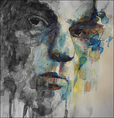Painting - Van Morrison - Astral Weeks  by Paul Lovering