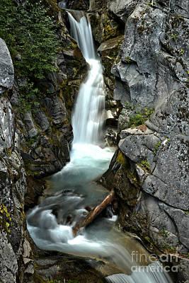 Photograph - Van Trump Creek Canyon by Adam Jewell