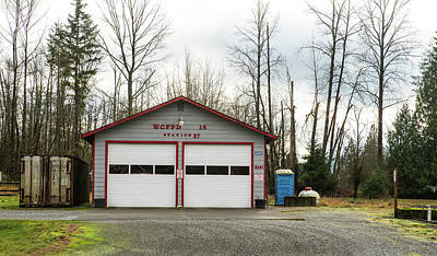 Photograph - Van Zandt Fire Department by Tom Cochran