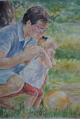 Painting - Vance And Peyton by Gloria Turner