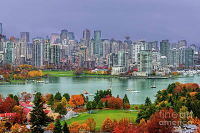 Paint Photograph - Vancouover After The Rain by Viktor Birkus