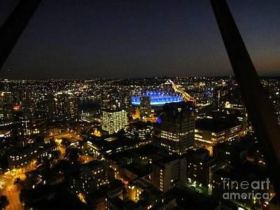 Vancouver At Night Art Print by Igor Baranov