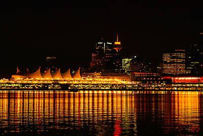 Vancouver At Night Original