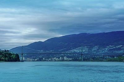 Vancouver, British Columbia Art Print by Art Spectrum