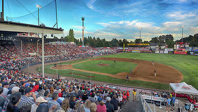 Photograph - Vancouver Canadians At Home by C H Apperson