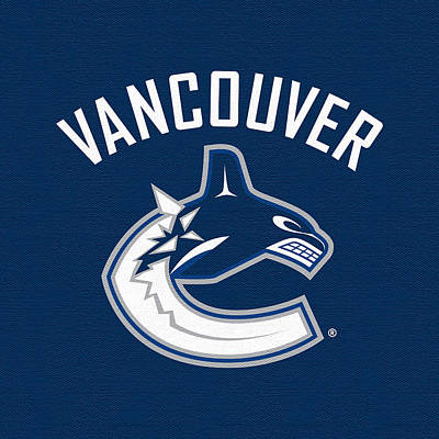 Vancouver Canucks Digital Art - Vancouver Canucks Dark by Game On Images