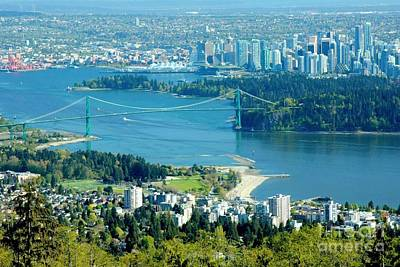 Photograph - Vancouver City by Frank Townsley