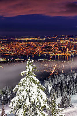 Photograph - Vancouver City View by Pierre Leclerc Photography