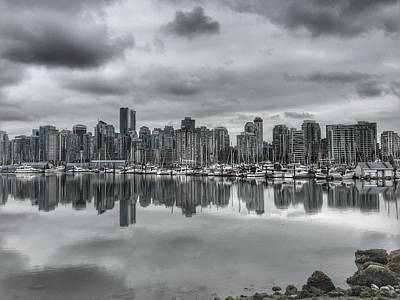 Photograph - Vancouver Cityscape by Anne Sands