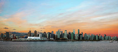 Photograph - Vancouver Dawn by Mitch Cat