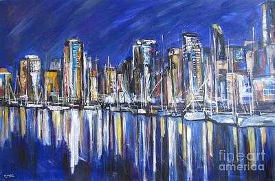 Painting - Vancouver by Debora Cardaci