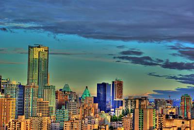 Photograph - Vancouver Dusk by Dale Stillman