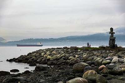 Photograph - Vancouver English Bay by Steven Richman