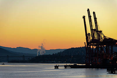 Photograph - Vancouver Harbour Dawn by Steven Richman