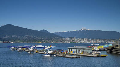 Photograph - Vancouver Harbour Flight Centre by Ross G Strachan