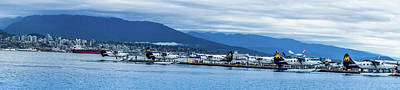 Vancouver Harbour Water Airport  Art Print by Art Spectrum