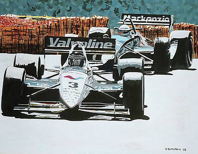 Painting - Vancouver Indy by David Skrypnyk