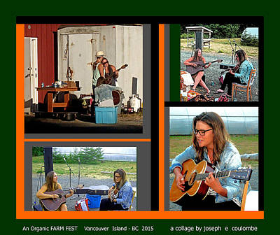 Photograph - Vancouver Island - Music N Farming by Joseph Coulombe