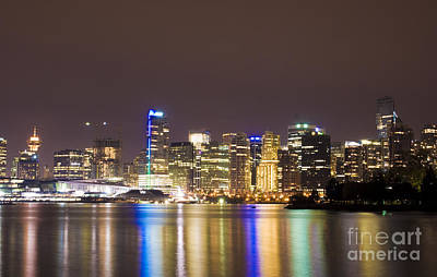 Photograph - Vancouver Lights by Louise Magno