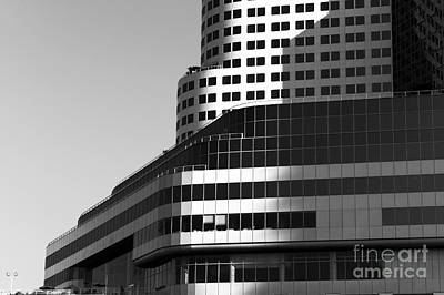 Photograph - Vancouver Lines And Angles Mono by John Rizzuto
