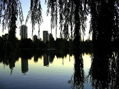 Photograph - Vancouver- Lost Lagoon by Will Borden