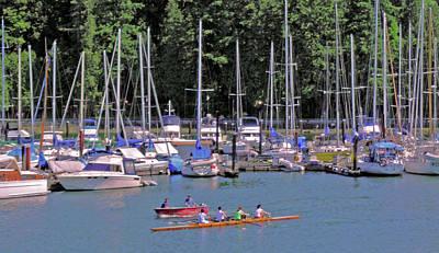 Photograph - Vancouver Marina No. 1 by Sandy Taylor