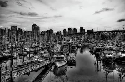 Photograph - Vancouver Marina by Unsplash