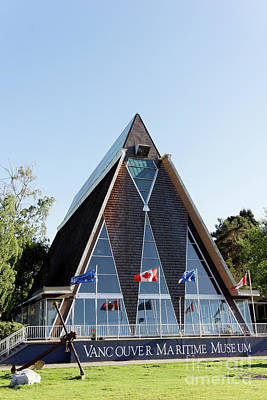 Photograph - Vancouver Maritime Museum by John  Mitchell