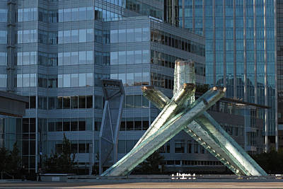Photograph - Vancouver Olympic Cauldron - 365-226 by Inge Riis McDonald
