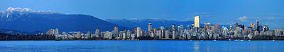 Vancouver Panorama   This Can Be Printed Very Large Art Print by Pierre Leclerc Photography