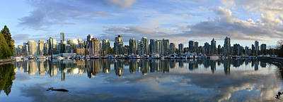Photograph - Vancouver Panorama by Keith Boone