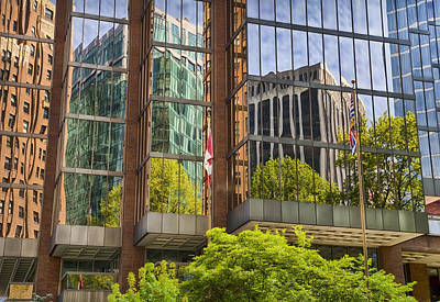 Photograph - Vancouver Reflections by Theresa Tahara
