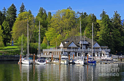 Photograph - Vancouver Rowing Club In Stanley Park by Charline Xia