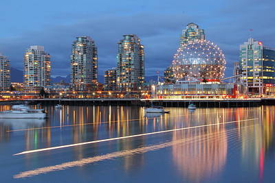 Photograph - Vancouver Science World by Hagen Pflueger