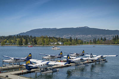 Photograph - Vancouver Seaplane Terminal by Ross G Strachan