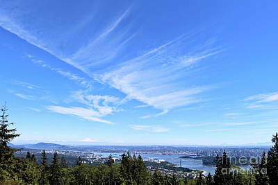 Photograph - Vancouver Sky by Victor K