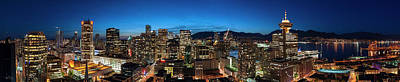Photograph - Vancouver Skyline #5 by Anna Beaudry