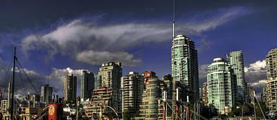 Photograph - Vancouver Skyline by Wayne King