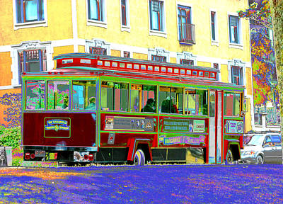 Photograph - Vancouver Trolley by Barbara  White