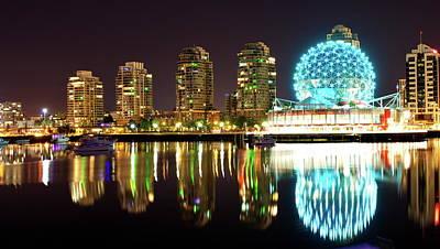 Photograph - Vancouver Waterfront by Christina Dutkowski