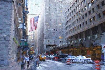 Digital Art - Vanderbilt Avenue, Nyc by Matthew Ashton