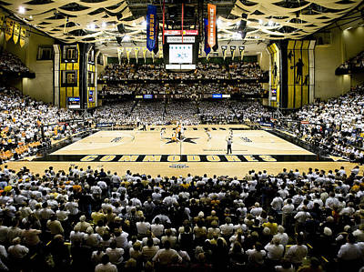 Vanderbilt Commodores Memorial Gym Art Print by Replay Photos