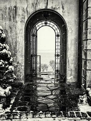Vanderbilt Doorway In Centerport Art Print