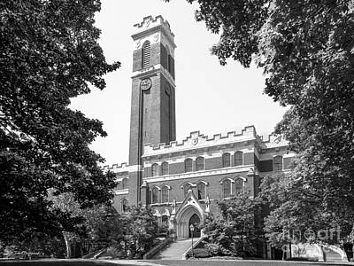 Vanderbilt University Kirkland Hall Art Print by University Icons